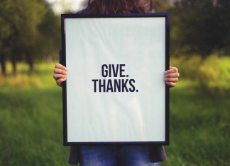 Create an Attitude of Gratitude