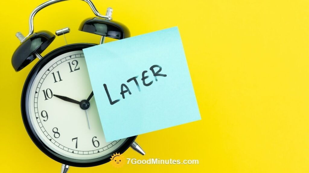 Tips On How To Stop Procrastinating