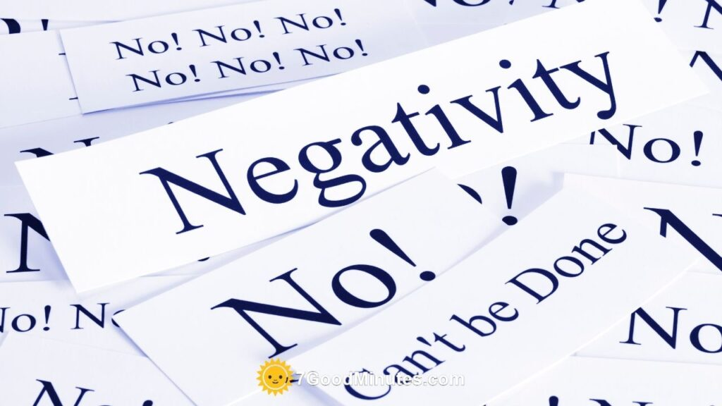 How To Remove Negativity from Your Life